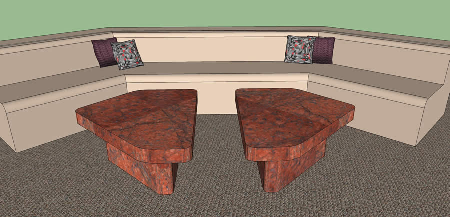 End Tables Rendering