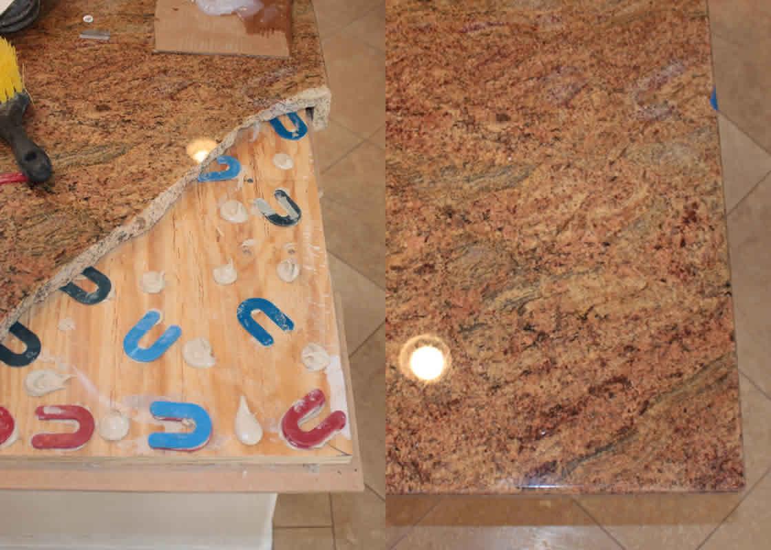 Broken granite repair millestone marble tile dailygadgetfo Choice Image