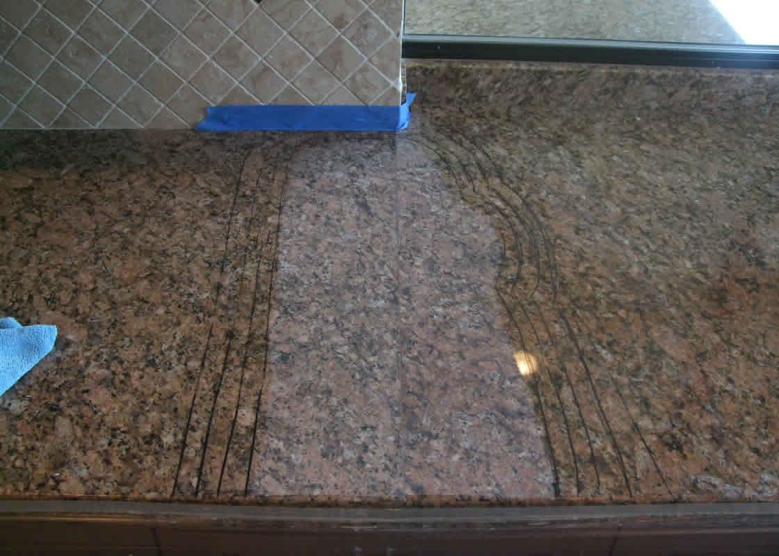 Granite Countertop Seams : Granite seam repair millestone marble tile