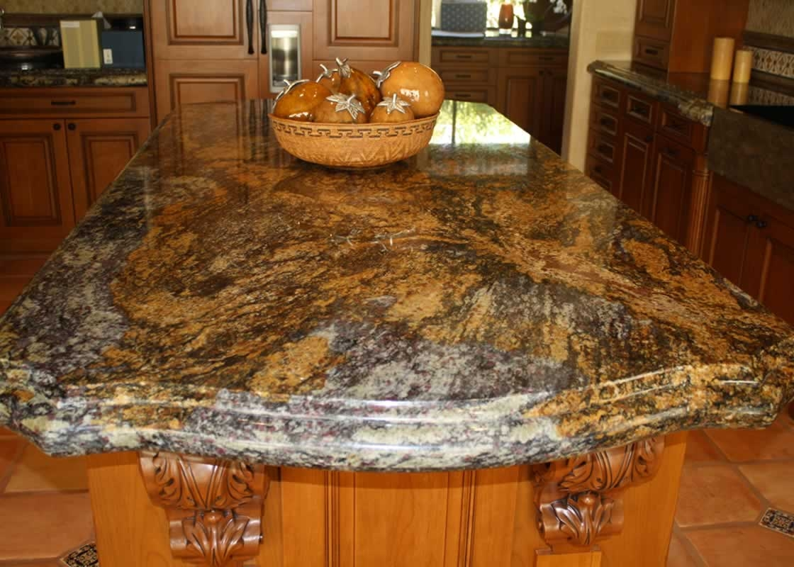 Black Fantasy Granite Kitchen