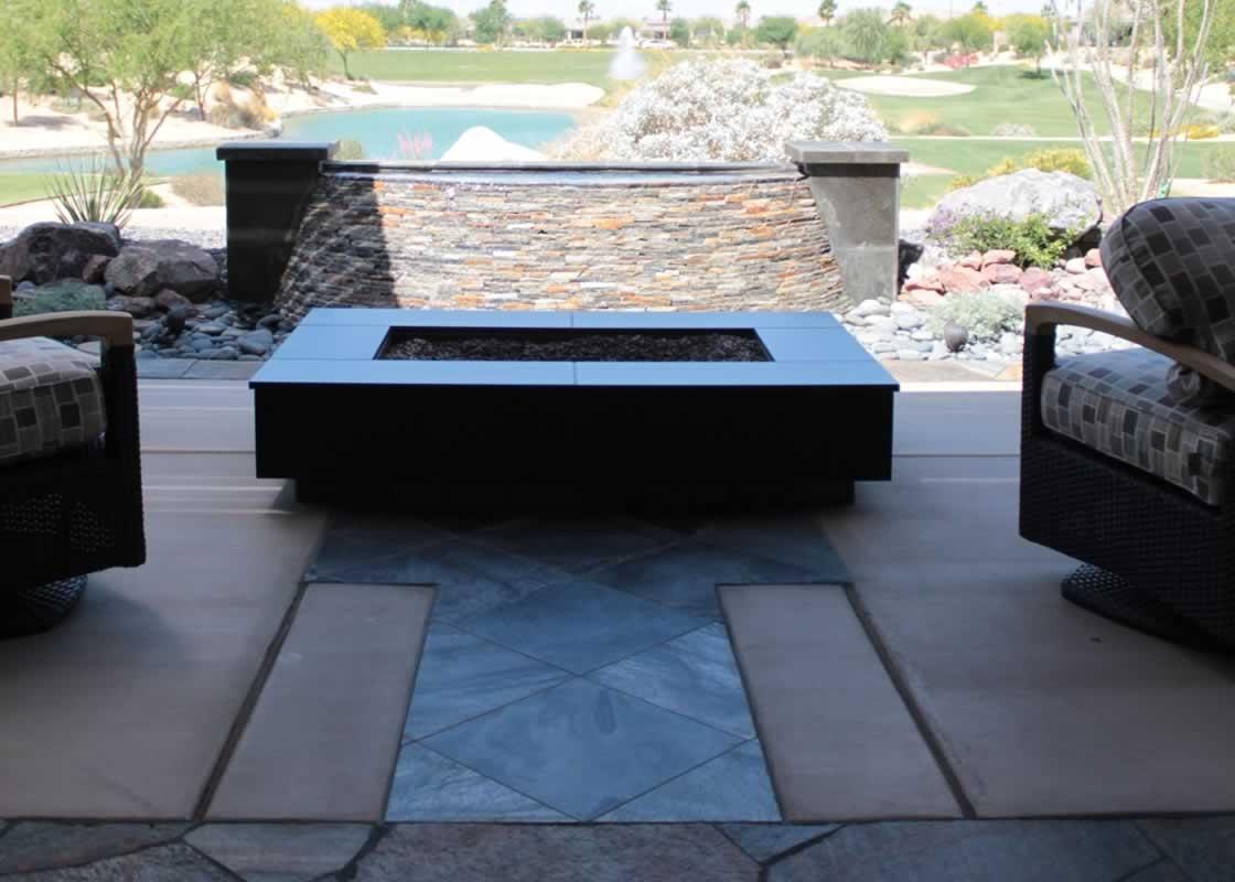 Brushed Travertine Exterior Floor | MilleStone Marble & Tile